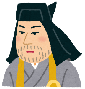 上杉謙信公の似顔絵
