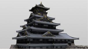大坂城のCG