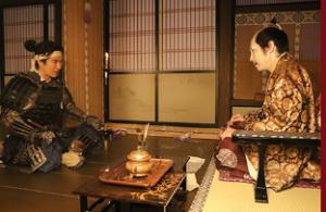 小田原城に籠城する北条氏政の説得を試みる信繁